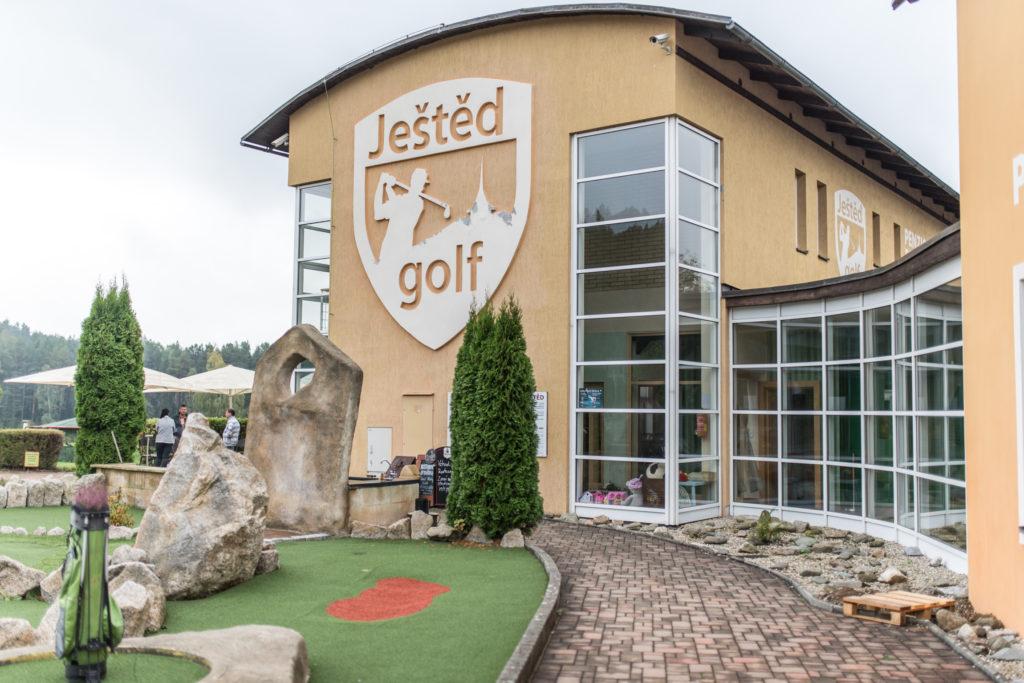 Jana a Milan Golf Club Ještěd