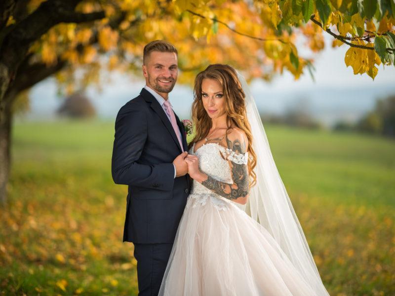 Alenka a Patrik svatba Zámek Svijany