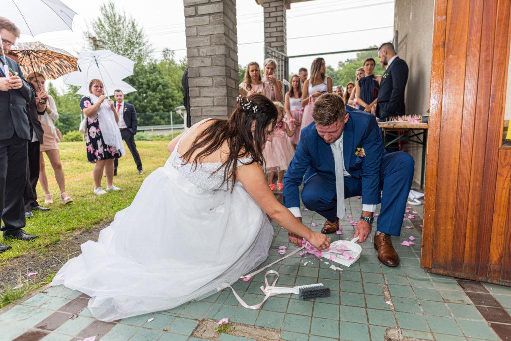 Lucie a Tomáš svatba Hrad Valdštejn