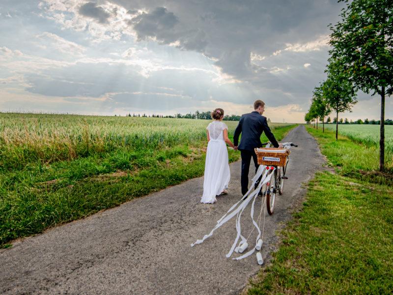 Martina a Luděk svatba statek Střížovice
