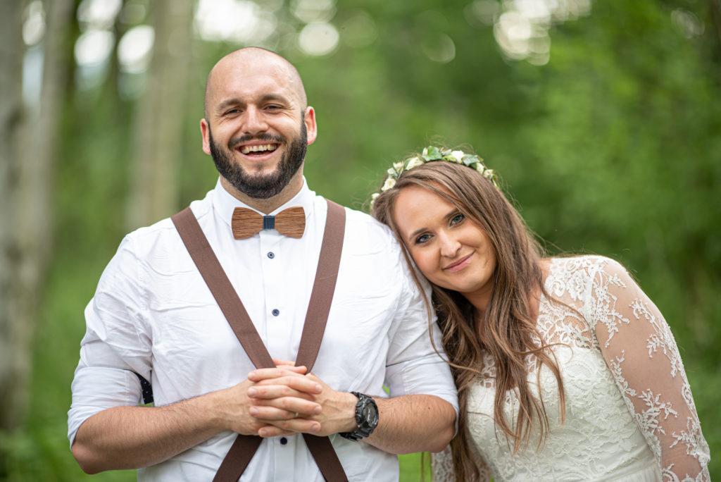 Nikola a Jiří svatba Uhelná u Hrádku nad Nisou