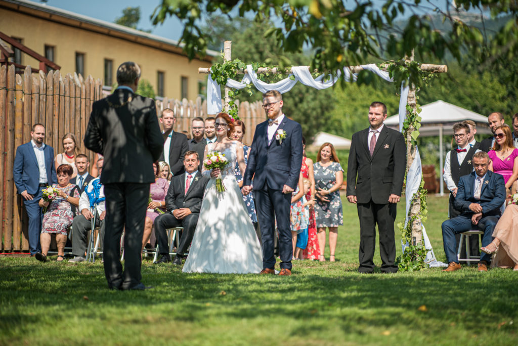 Simona a Patrik svatba Golf Ještěd